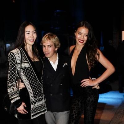 Maple Sam, Noe Bernacelli y Katherine Luy