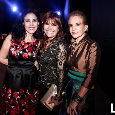 Marcela Vanini , Magaly Medina e Isabel Serkovic