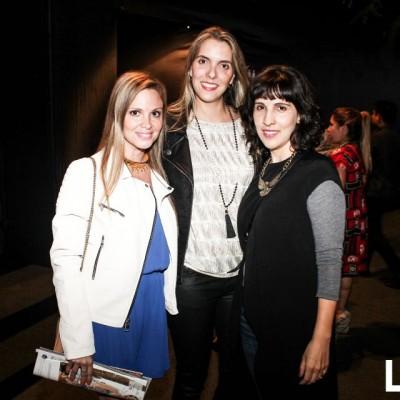 Marcia Heighes, Fiorella Poblete y Paula Carossi