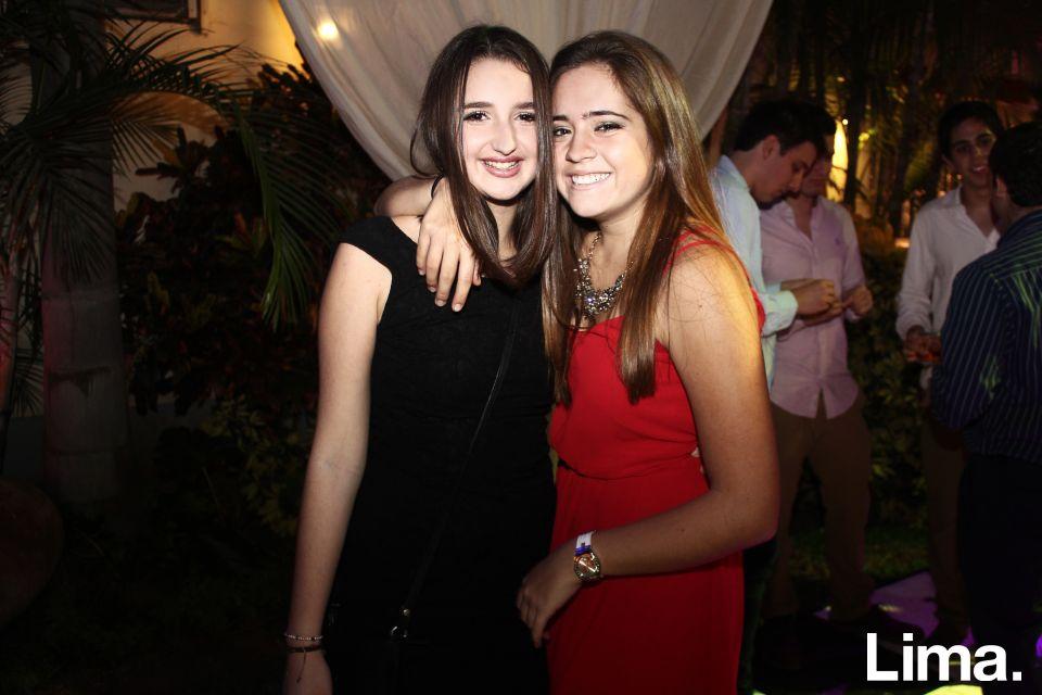 Maria Gracia Echevarría y Briana Gubbins