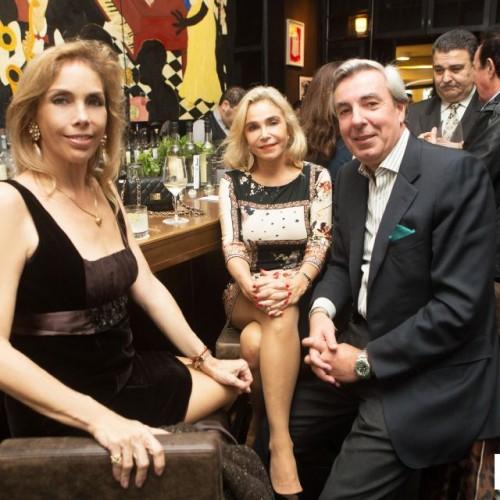 Marilú Vignati, Rossella Alberti y Tristán Gonzales del Valle