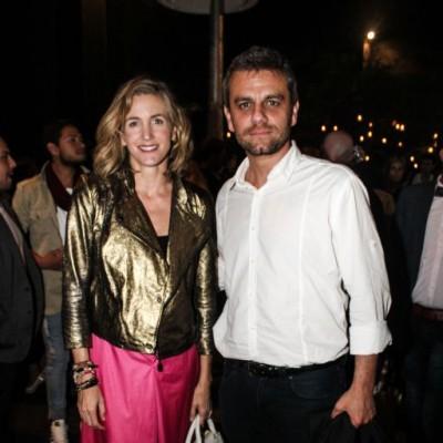 Mercedes Cardozo y Fabrizio Aguilar
