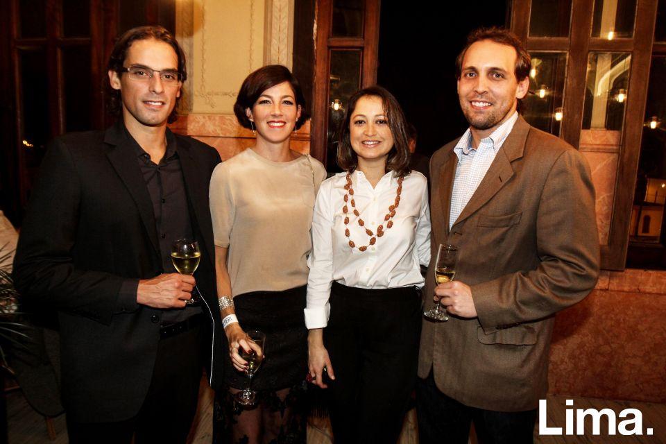 Nicolás Buckley, Patricia Acevedo,  Verónica Haaker y Omar Salas
