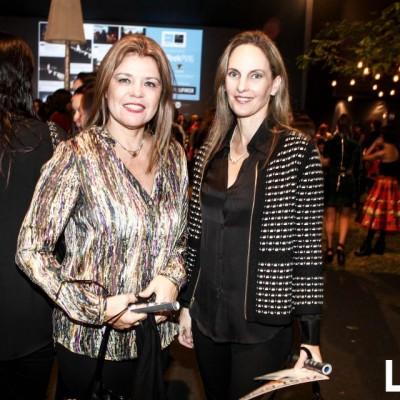 Olga Velarde y Lorena Grande