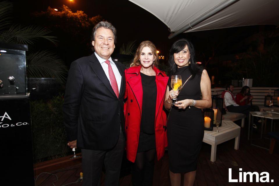 Ricardo Martin de Rossi, Carolina Tola y Patricia Saavedra