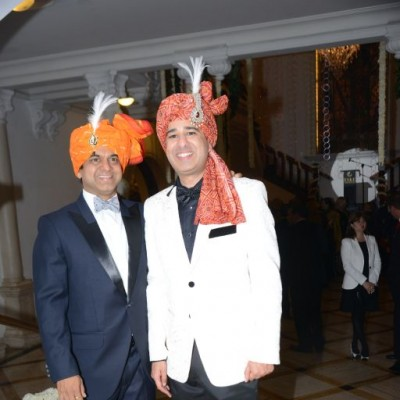 Rohit Rao y Hemant Aviv