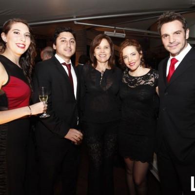 Sandro Zuñiga, Gisella Flores, Virna Flores y Ismael La Rosa
