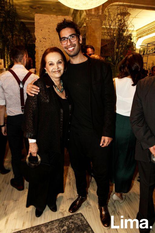 Sonia Céspedes y Gianfranco Loli