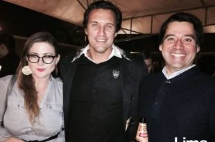 Stephanie Byrd, Edgardo Baca y Santiago Moreno