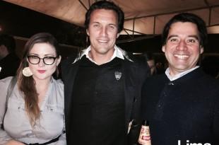Stephanie Byrd, Edgardo Baca y Santiago Moreno