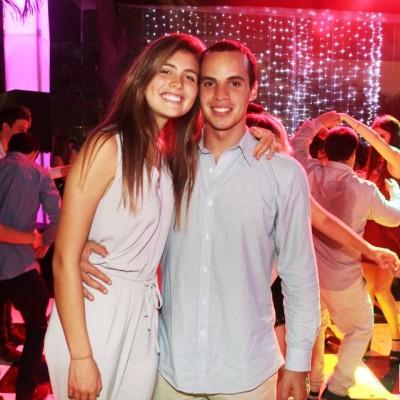 Támara Thiessen y Nicolás Gianfef