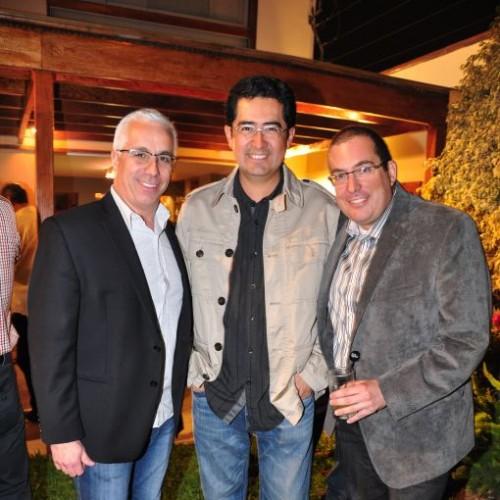 Alejandro Ormeño, Luis Leei y Miguel Atala