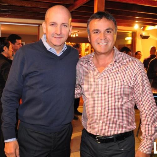 Alex Noriega y Santiago Reyna
