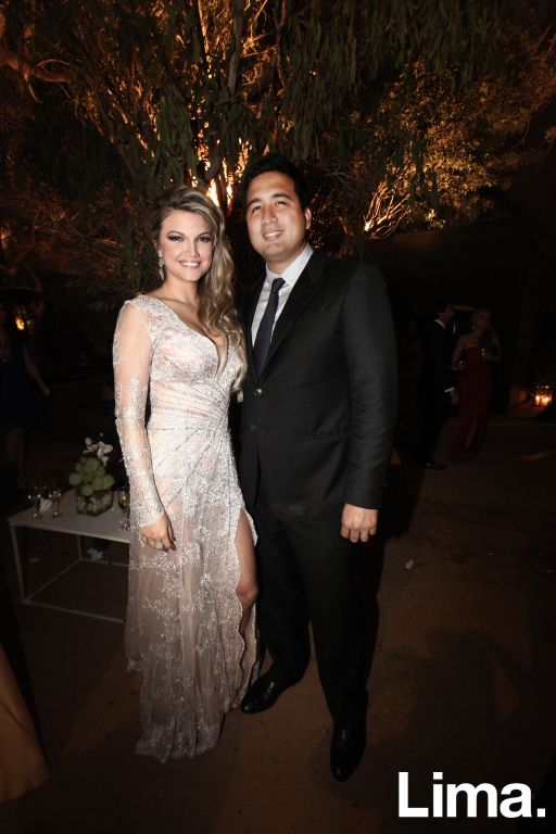 Alicia Hamann y Oscar Peña