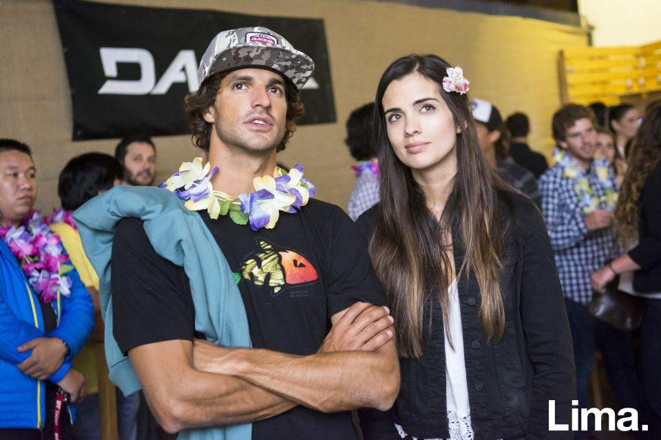Alvaro Malpartida y Julie Karacsony