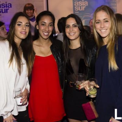 Ambar Morales-Bermudez, Erika Delgado, Mariana Gutiérrez y Maria Pía Raffo