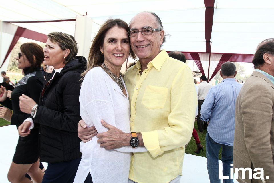 Ana Rosa Siles y Mariano Ramos