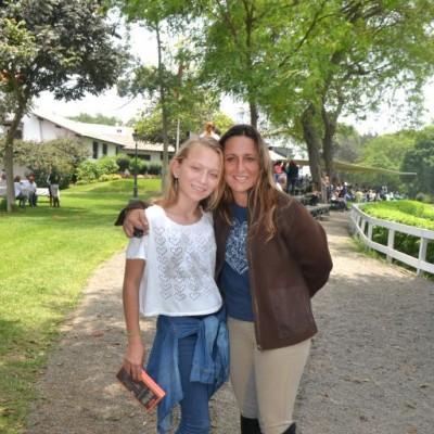 Ana Sofía Vestergard y Lola Alva