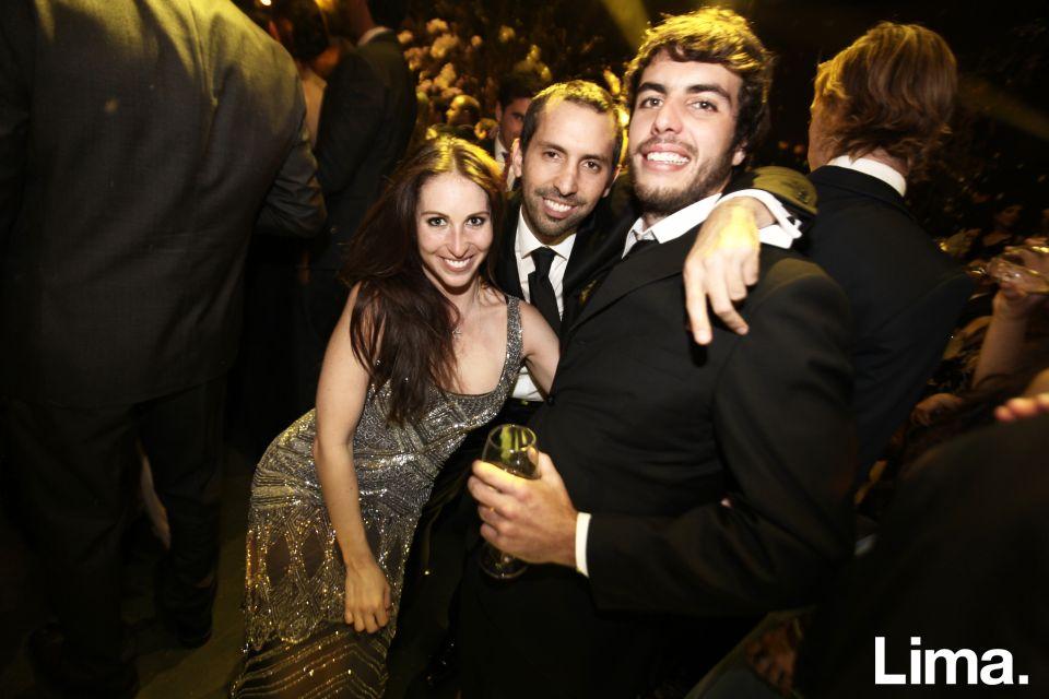 Andrea Gallese, Fernando Dianderas y  Stefan Kahatt