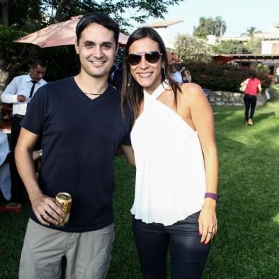 Antonio Bisso y  Rosa Monteverde