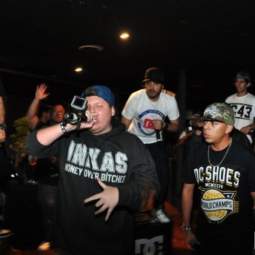 Banda de rap Inkas Mob
