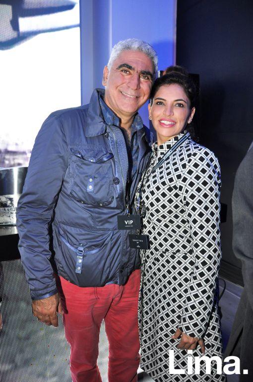 Beto Kouri y Mónica Tambini