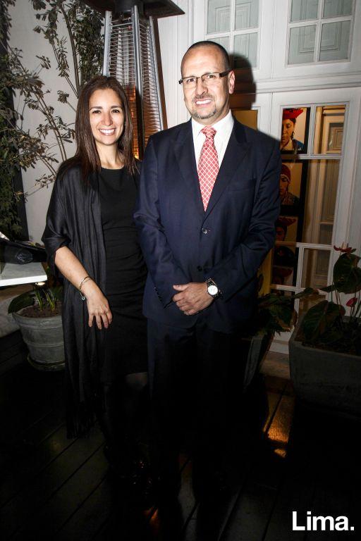 Blanca García León y Alfonso Caillaux
