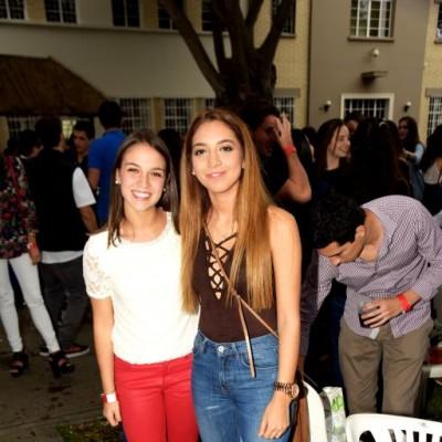 Camila Bueno y Maria José Canales
