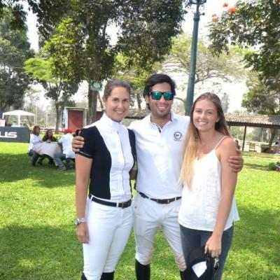Carolina Gómez , Alejandro Nuñez y Rafaella Piaggio