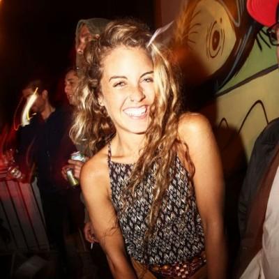 Chiara Rosingana en fiesta Hoodz, El Callao.