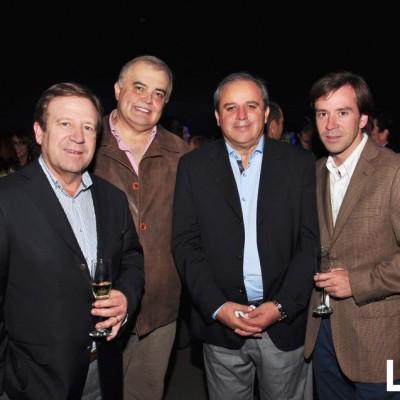 Cristian Concha, Luis Olmos, Rodrigo Pinto y Nicolás Concha
