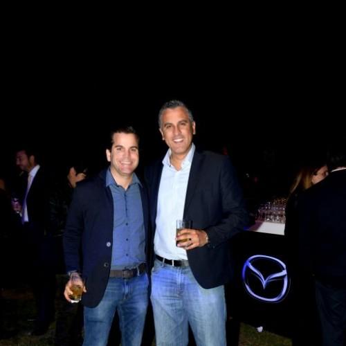 Diego Morales y Gustavo Pinedo.