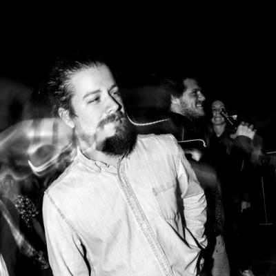Drust  en fiesta Hoodz, El Callao.