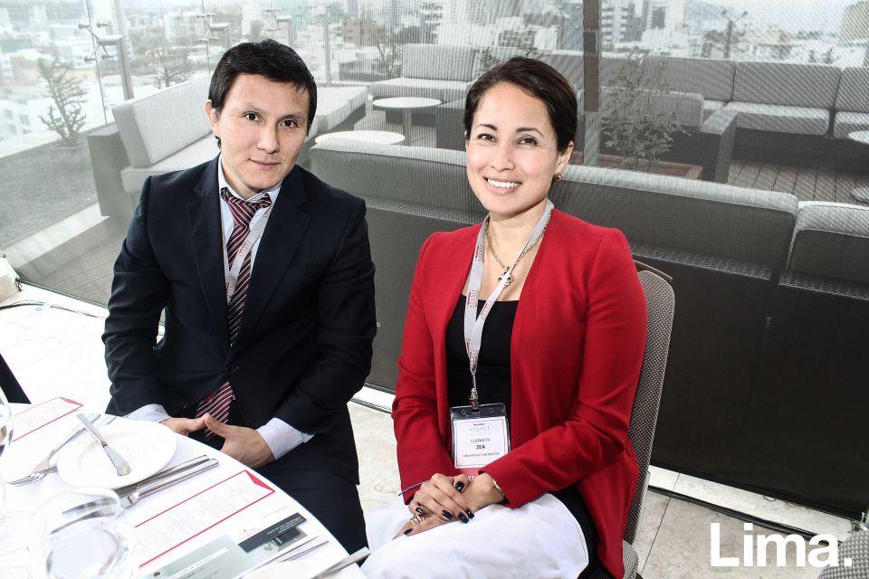 Elizabeth Zea y Carlos Torres