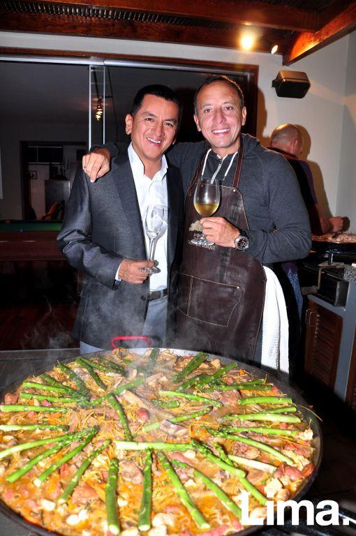 Enrique Pajuelo y Genaro Negrón