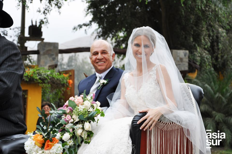 Luis Felipe y Andrea Balta