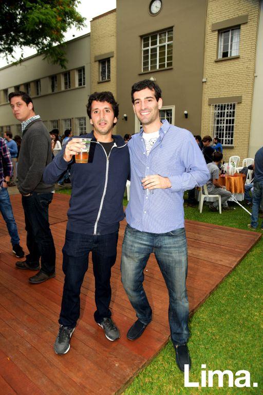 Felipe Ricci y Jose Villavicencio