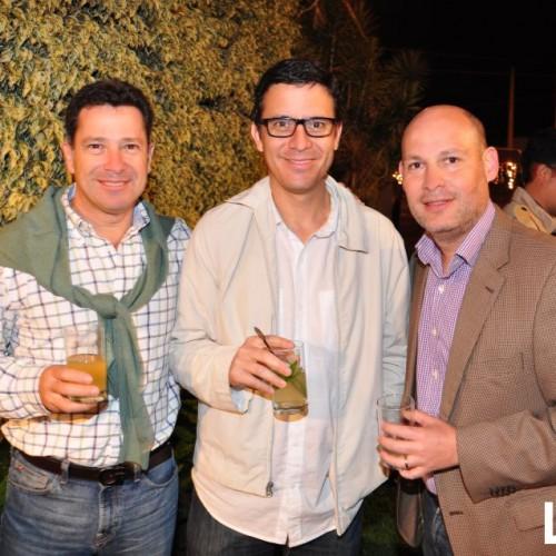 Fernando Cabada, Juan Montoya y Nacho Ortuzar