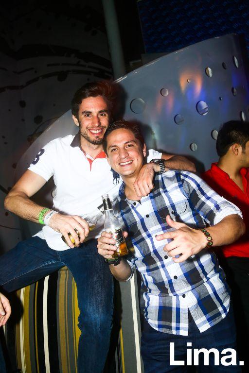 Fernando Roca Rey y Víctor Alfaro