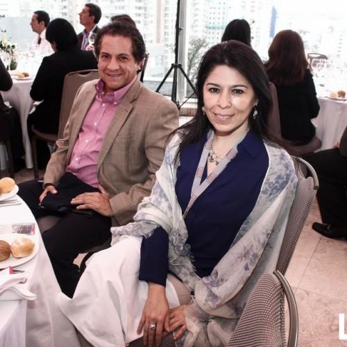 Flavia Pareja y Luis Villacorta
