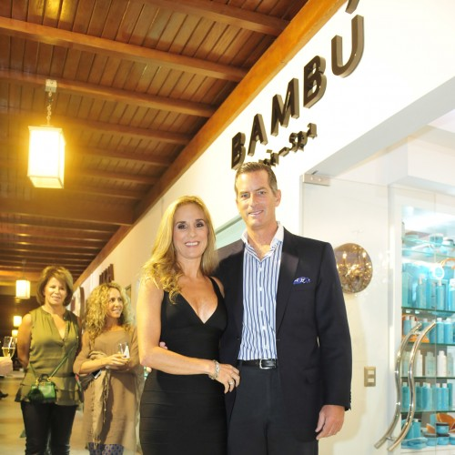 Gabriela Lizier y Rodrigo Arosemena