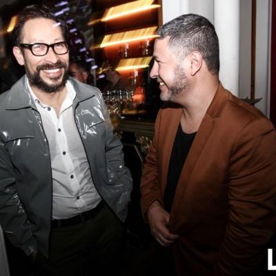 Gerardo Larrea y Antonio Choy Kay en Matadero, Barranco.