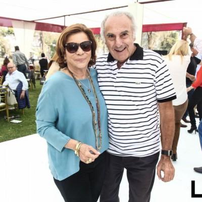 Gianinna Maggiolo y Humberto Gutiérrez