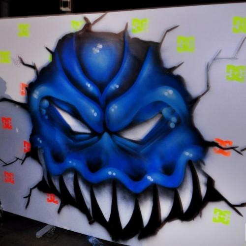 Grafitero Fernando Garaicoa