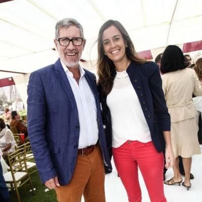 Guillermo Checa y Lorena Senador