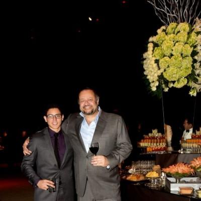 Guillermo Mendoza hijo y Guillermo Mendoza