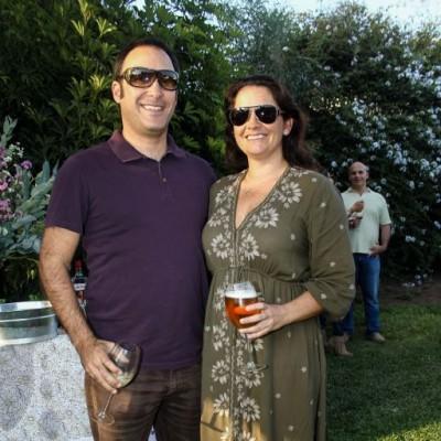 Guillermo Miro Quesada y Carina Vizcarra