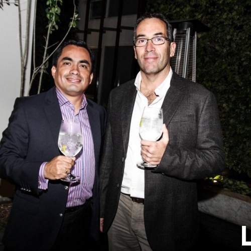 Hernán Nepo y Oscar Ortigosa