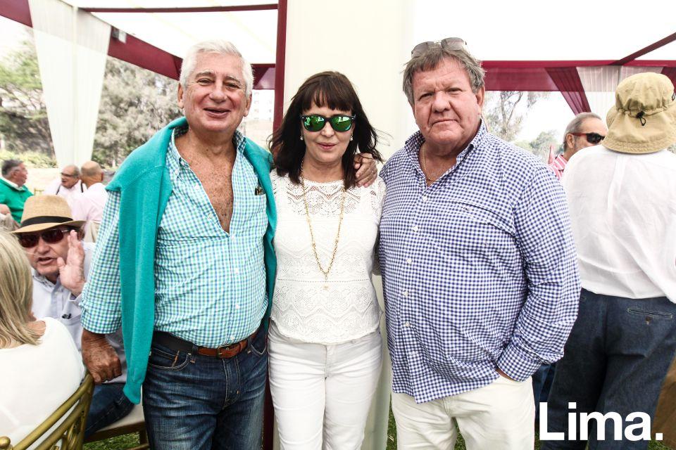 Javier Labarthe , María Luisa y Carlos Palacios
