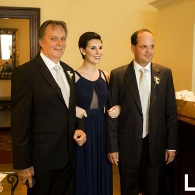 Jorge, Bárbara y Jorge Eduardo Bazo